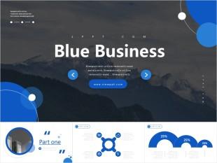Blue Business Powerpoint Template