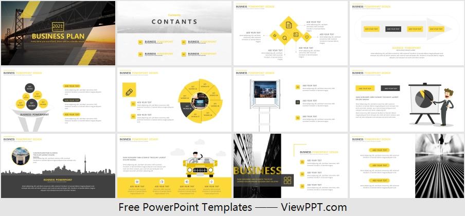 Bridge Construction Powerpoint Template