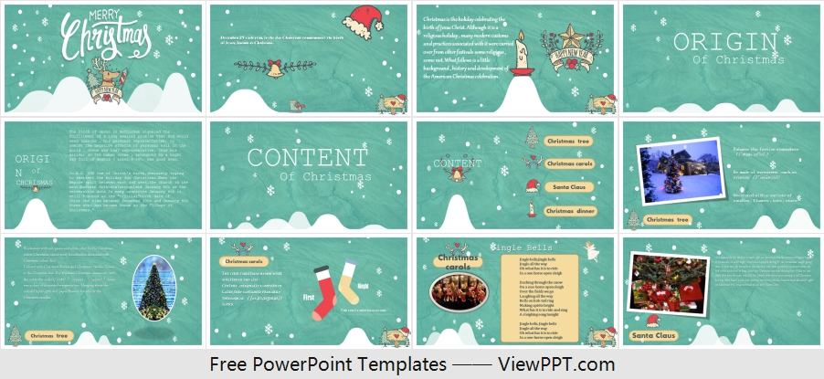 Christmas Introduction Powerpoint Template