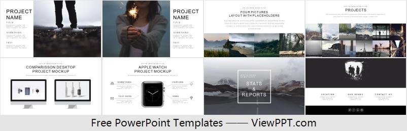Building Landscape Powerpoint Template